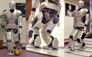 伊朗研发的人形机器人