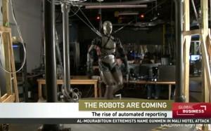 机器人记者来了