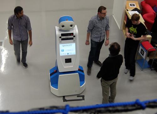 荷兰机场将装备导航机器人 给旅客提供问路服务