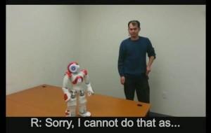"""开发者教机器人说""""不"""""""