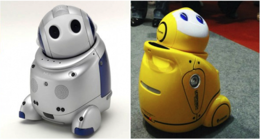 PaPeRo机器人与爱乐优机器人外观对比
