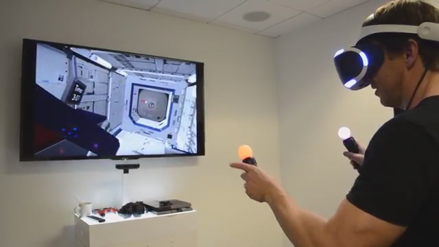 PlayStation VR and NASA Tech Demo to Train Space Robot Operators