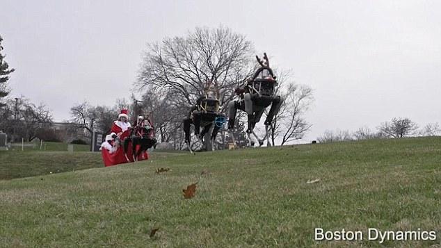 boston dynamics christmas