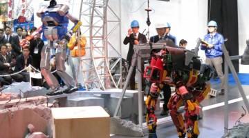 2015日本国际机器人展现场