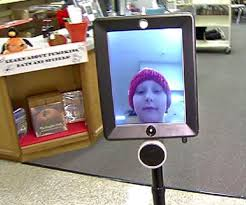 robot helps girl to attend school