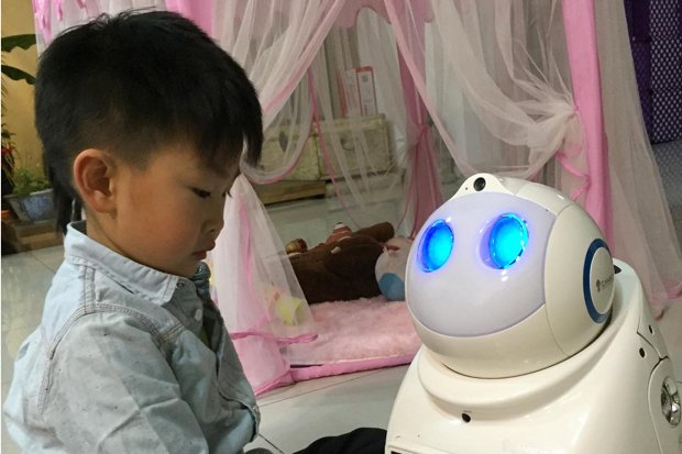 The Times (UK): Robots are siblings for Chinas lonely children