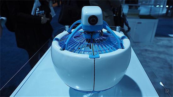 个人飞行机器人Fleye无人机