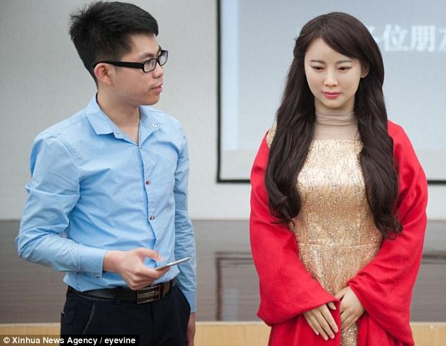 robot jia jia from china
