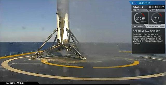 spaceX robot ship