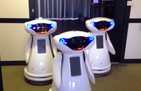 对自适应多机器人同行的分布式控制