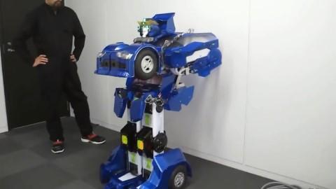 软银变形金刚机器人