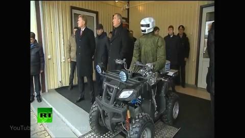 俄罗斯军事机器人