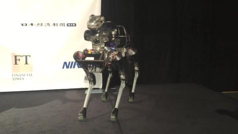 SpotMini robot demo