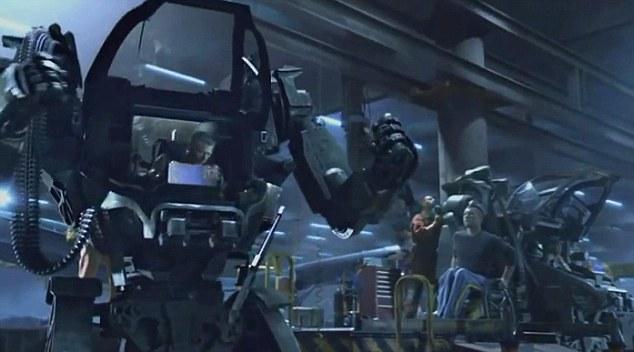 《阿凡达》里的机甲机器人