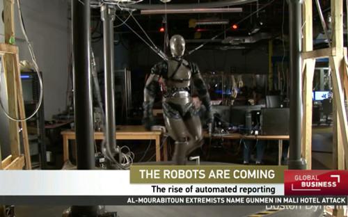 机器人记者:只要导入数据 财经报道自动生成