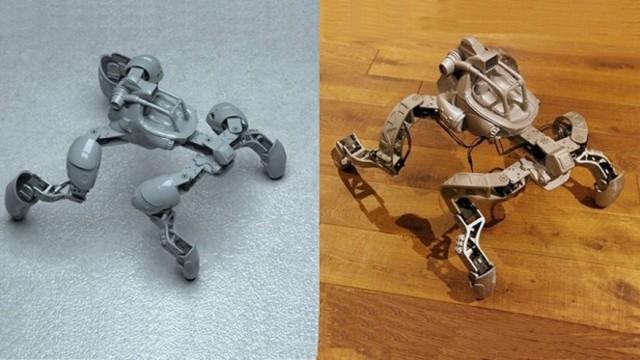 有没有考虑过自制机器人?从这款四足机器人开始