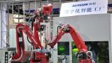 多款智能机器人亮相2016洛阳机器人展