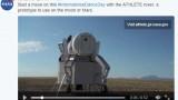 国际跳舞日 NASA发布太空机器人跳舞视频