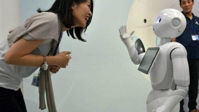 VOA:服务机器人Pepper登陆台湾