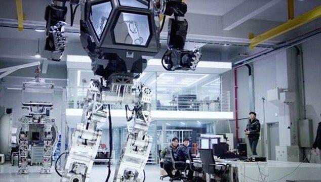 """韩国载人机器人""""METHOD-1″ 机甲外形很科幻"""