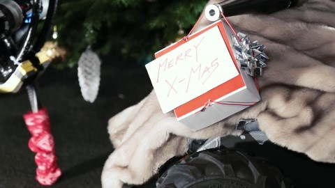机器人的圣诞节