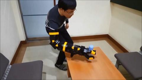 韩国全南国立大学推出可变形机器人手臂Arm Bag