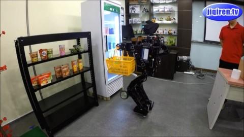 人形机器人Thormang3购物全程