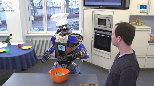欧盟Xperience项目展示机器人ARMAR-III的最新结果