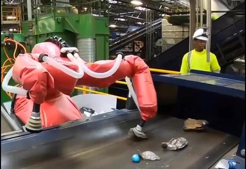 垃圾分类 机器人上!